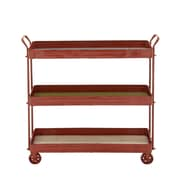 Woodland Imports Simply Distinctive Bar Cart
