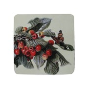 Golden Hill Studio Cherry Branch/Butterfly Coaster (Set of 8)