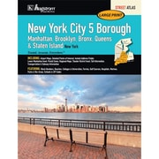 Universal Map New York City 5 Borough Large Type Atlas