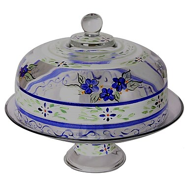 Golden Hill Studio Floral Cake Stand
