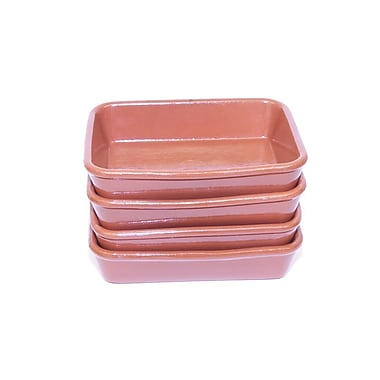 Regas Ceramics Small Terracotta Oven Tray (Set of 4)
