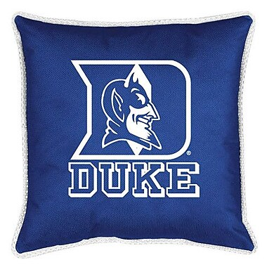 Sports Coverage NCAA Duke Sidelines Throw Pillow