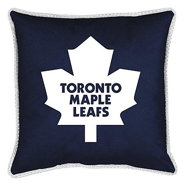 Sports Coverage NHL Toronto Maple Leafs Sidelines Throw Pillow