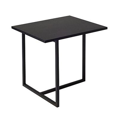 URBN Dolf End Table; Black Ash