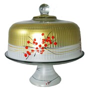Golden Hill Studio Berries 'n Branches Cake Stand