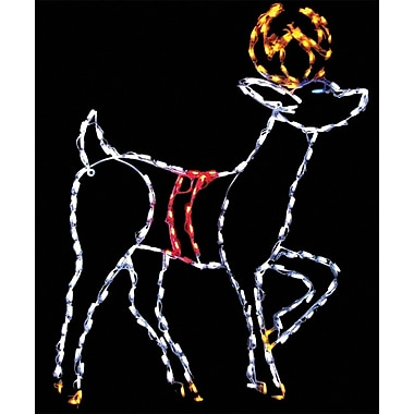 Brite Ideas Reindeer LED Light