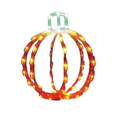 Brite Ideas 3D Pumpkin LED Light; 12''