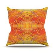 KESS InHouse Sunrise Outdoor Throw Pillow; 26'' H x 26'' W x 4'' D