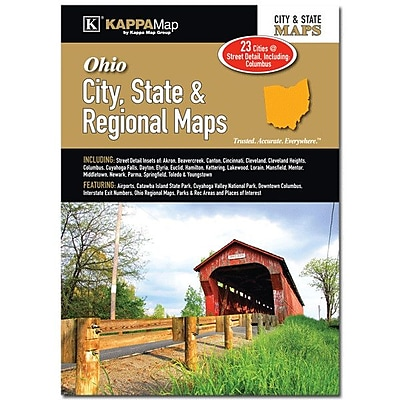 Universal Map Ohio State and City and Regional Map WYF078277166393