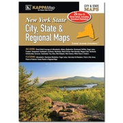 Universal Map New York State and City and Region Map