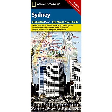 Universal Map Sydney Destination City Map and Guide