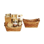 WaldImports Carved Willow Basket (Set of 2)