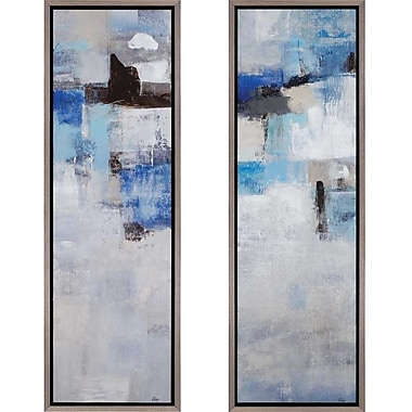 Paragon Karma/Kismet by Ridgers 2 Piece Framed Painting Print Set (Set of 2)