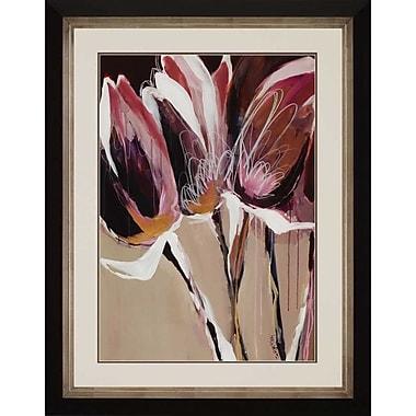 Paragon Aubergine Splendor I by Maritz Framed Painting Print