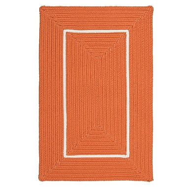 Colonial Mills Doodle Edge Orange Border in Border Indoor/Outdoor Area Rug; 3' x 5'