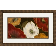 PTM Images Beautiful Poppies I Framed Painting Print