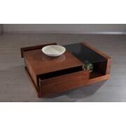 La Viola D cor 213 Plus Cartier Coffee Table; White / Walnut