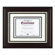 The Burns Group Wall Frame, w/ Lined Insert, 11''x14'', Mahogany