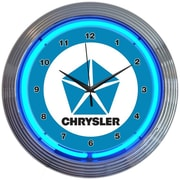 Neonetics 15'' Chrysler Pentastar Neon Clock