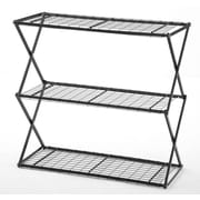 FlowerHouse 3-Tier Exy Shelving System, Black