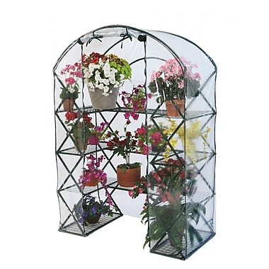 FlowerHouse 4.5' x 2.5' Harvest House Plus Greenhouse