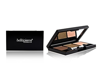 Bellapierre 3 Color Pressed Eye Shadow Brown Eyed Girl 1387312