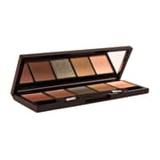 Bellapierre 5 Color Pressed Eye Shadow Camo Green