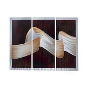 Nova of California Folds 3 Piece Graphic Art Set