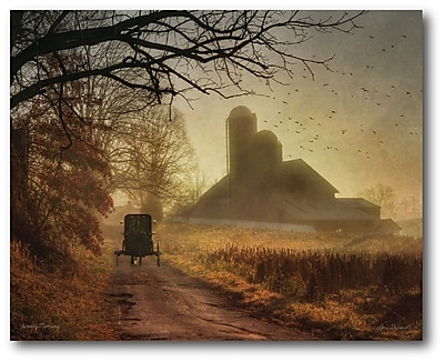 Courtside Market Farmhouse Canvas Aumish Country Photographic Print on Wrapped Canvas