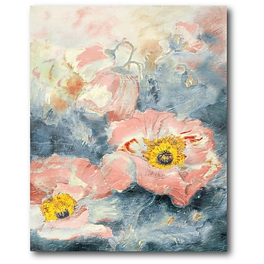 Courtside Market Flowers II Painting Print on Wrapped Canvas