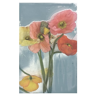 Courtside Market Poppy Spray II Painting Print on Wrapped Canvas