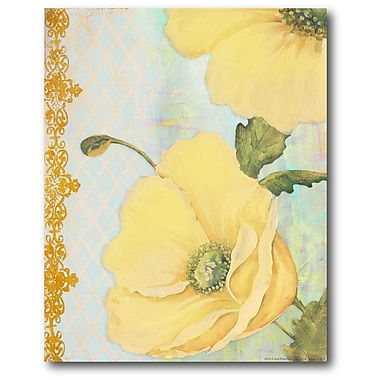 Courtside Market Large Flowers I Painting Print on Wrapped Canvas