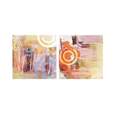 Ready2hangart Abstract 2-Piece Graphic Art on Canvas Set