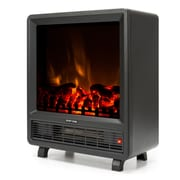 e-Flame Flame Cube 1,350 Watt Portable Electric Compact Heater