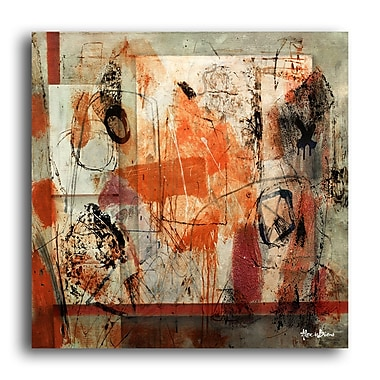 Ready2hangart 'Bueno Exchange XX' Framed Painting Print on Wrapped Canvas