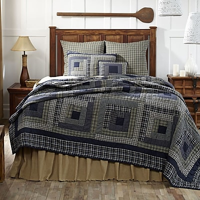 VHC Brands Columbus Quilt; Queen