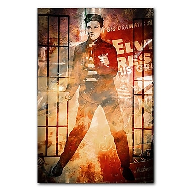 Ready2hangart Iconic 'Elvis Jailhouse Rock' Graphic Art