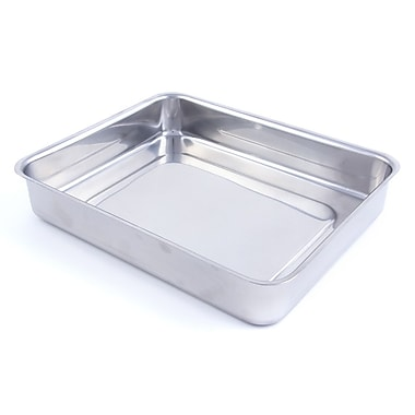 Bon Chef Cucina Food Pan without Handles; 2.2'' H x 11.09'' W x 9.59'' D