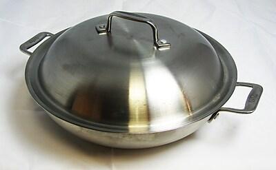 Bon Chef Cucina Round Braiser w/ Lid; 3.5-qt.