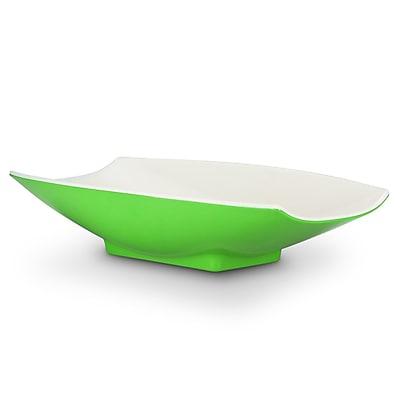 Bon Chef 8 oz. Melamine Curves Bowl; Lime