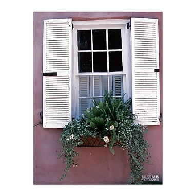 Ready2hangart 'White Shutters' by Bruce Bain Photographic Print on Wrapped Canvas