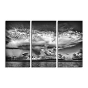 Ready2hangart 'Clouds' by Bruce Bain 3 Piece Photographic Print on Wrapped Canvas Set