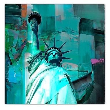 Ready2hangart Lady Liberty' Graphic Art on Canvas