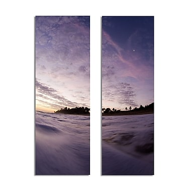 Ready2hangart 'Purple Skies' by Nicola Lugo 2 Piece Photographic Print on Wrapped Canvas