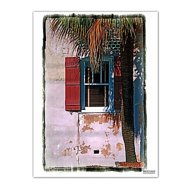 Ready2hangart 'Charleston Window' by Bruce Bain Wrapped Photographic Print on Canvas