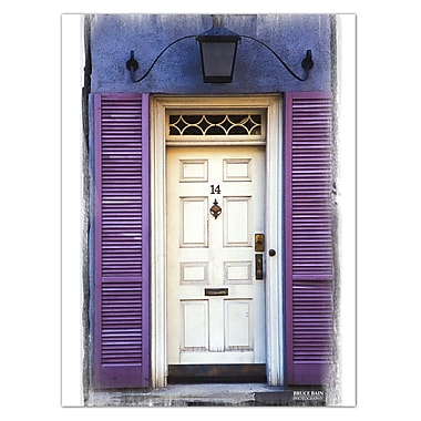 Ready2hangart 'Mews Doors' by Bruce Bain Photographic Print on Wrapped Canvas