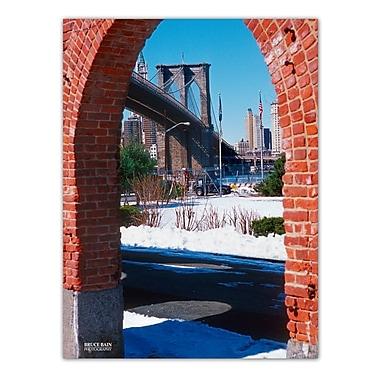 Ready2hangart 'Brooklyn Bridge II' by Bruce Bain Photographic Print on Wrapped Canvas