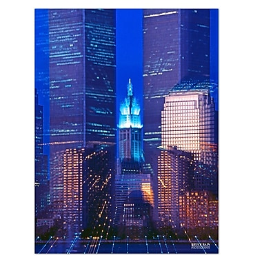 Ready2hangart 'Twin Towers' by Bruce Bain Photographic Print on Wrapped Canvas