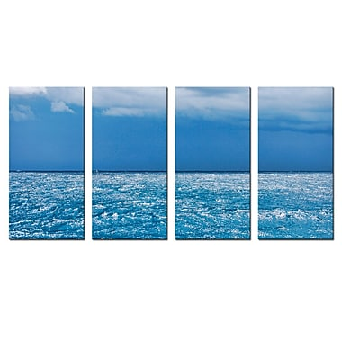 Ready2hangart 'Summer Storm' by Christopher Doherty 4 Piece Photographic Print on Wrapped Canvas Set