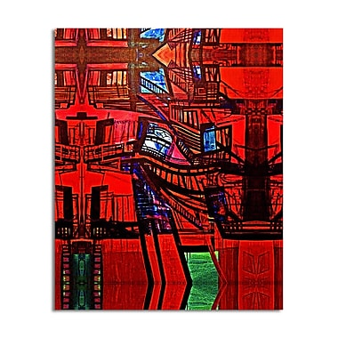 Ready2hangart 'Abstract Escape' by Bruce Bain Photographic Print on Wrapped Canvas